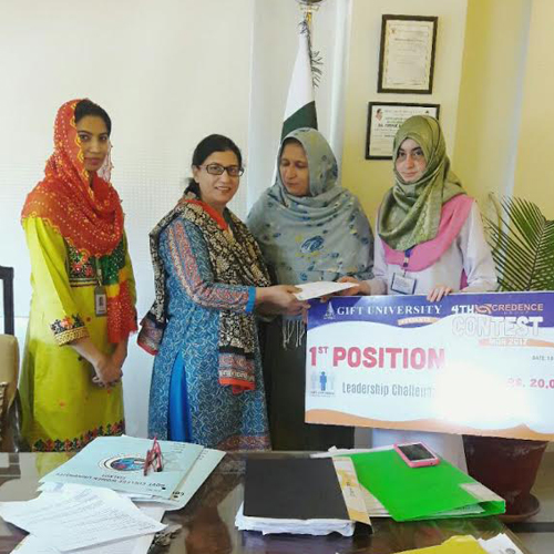 Welcome to our website govt college women university sialkot the students of department of mathematics have participated in 4th credence contest starting from 16 03 2017 to 18 03 2017 at gift university gujranwala and negle Images